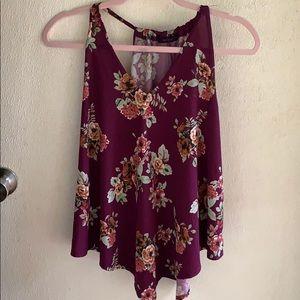 S/M Purple Blouse